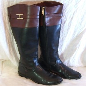 TOMMY HILFIGER 10 RIDING BOOTS